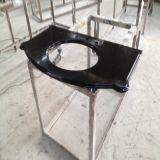 Китай отполировал черноту Granite/Quartz Countertop/Vanitytop кухни/мебели совершенно