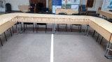 Tabella di piegatura di congresso di addestramento con i paraocchi anteriori della falda per l'hotel e la riunione