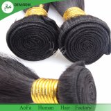 100% humanly Hair Weft for Virgin Nacural Black Color Hair