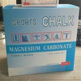 Tiza del carbonato del magnesio de la tiza de la gimnasia usada en deportes/el levantamiento de pesas/la escalada