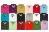 Освободите рубашки пола Pique хлопка подходящих людей с изготовленный на заказ вышивкой