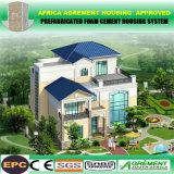 L'ospite modulare a buon mercato prefabbricato si dirige la villa prefabbricata dell'hotel con solare