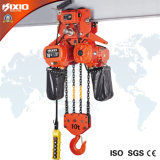 Élévateur à chaînes électrique de construction industrielle de 15 tonnes avec le chariot (chaîne 6)