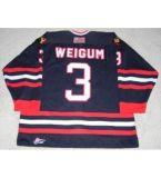 Настроить мужская дети женщин Whl Portland Winterhawks 3 Джон Weigum 9 Крис Callaway 12 Брайан Woolger Хоккей футболках Nikeid S-6XL Goalit вырежьте новое
