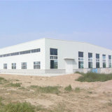 Prefabricados de acero de la ingeniería de diseño arrojar almacén en China