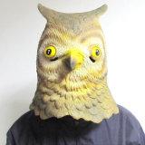 Máscara de Víspera de Todos los Santos de la suposición del látex de la máscara de la pista del animal de partido