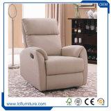 Jogo de couro do sofá da tela genuína moderna da sala de visitas da mobília do sofá único
