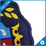 Mic最新のデザイン方法衣類のラベルのためのカスタム刺繍パッチ