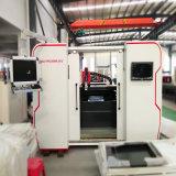 Máquina de grabado del corte del laser de la fibra del carbón del metal de la tela del CNC