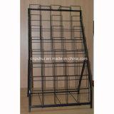 6 Porte métallique pliable tapis de la couche de présentoir (PHY3020)