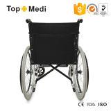 病院の使用のためのTopmediのアルミニウム軽量の標準車椅子