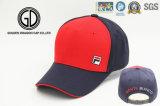 Gorra de béisbol de la tela cruzada del algodón de la alta calidad