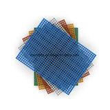 Mini caillebotis en fibre de verre de type de maille, 40*40mm maille, résistant à la corrosion