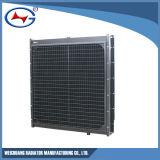 Radiador de cobre de la refrigeración por agua del radiador de Genset del radiador de la base Wd269tad56-4
