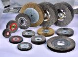 Cepillos Industriales cepillos de rueda personalizado para el desbarbado de ruedas de alta velocidad ferroviaria pulido