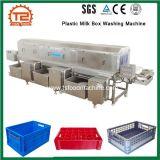 음식 쟁반 크레이트 세탁기 장비 플라스틱 우유 상자 세탁기