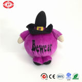 Prenez soin de Purple Demon Round Stuffed Plush Halloween Kids Toy