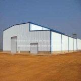 Prefabricados de acero estructural de la luz de almacén a Angola