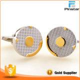 Custom avanzando a buen precio Metal Cufflink personalizado