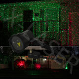Luz laser del nuevo de la llegada IP65 de la Navidad de la luz laser de la demostración jardín al aire libre de Rg