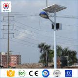 Indicatore luminoso di via di energia solare LED con Palo