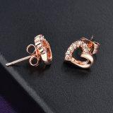 형식 여자 부속품 심혼 디자인 로즈 금 결정 귀걸이