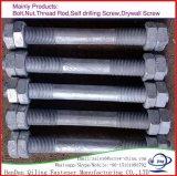 Grade 8,8 10,9 12,9 Double extrémité haute résistance vis et écrous de goujon fileté