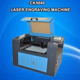 Máquina de láser de plástico de plástico acrílico de sellos de caucho con buen precio