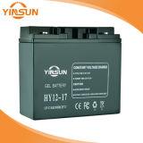 batería de plomo solar de 12V 17ah para la Sistema Solar portable