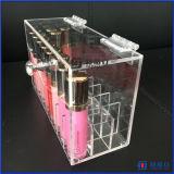 Cadre fabriqué à la main de l'espace du conteneur 24 de beauté de mémoire de renivellement avec le couvercle