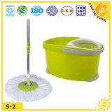 La Chine fournisseur double dispositif de nettoyage de plancher Mop (s-2)