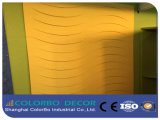 Pannelli decorativi della buona di assorbimento acustico di poliestere scheda acustica della fibra