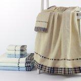 Niedriger Preis-Bad-Tuch und Tuch-Hauptleitung, welche die Ukraine vermarkten
