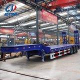 Semi-reboque Tipo 3eixos Lowbed reboque/caminhão de carga Cama Baixa reboques