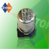 10V 100UF SMD estándar (condensadores electrolíticos de aluminio TMCE24)