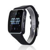 X6 Smartwatch Bluetooth Wireless Smart relógio de pulso com Relógio 2g TF Slot SIM Câmara Tela curvada Anti perdida para iPhone ios telefones Android
