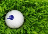 Golfball-Stempel mit Keychain