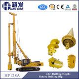 42m Profondeur! Hf128A Perceuse rotative hydraulique complète pour pont, route, construction de fonds