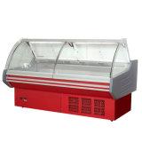 Супермаркет вентилятор охлаждения блюда витрина Deli питание дисплея холодильник счетчик