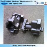 Части OEM отливки облечения с подвергать механической обработке CNC