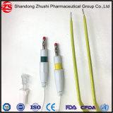 싼 가격 Electrosurgical 단일 용도 처분할 수 있는 12cm 크기 양극 겸자 2 Pin/Us 유형 연결관