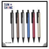 Stylo en métal de gros d'alimentation de logo personnalisé stylo promotionnel