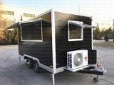 Hot Sales Best quality BBQ Oven Cart kiosk with air Conditioning