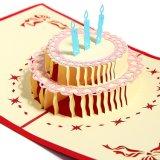중국 제조자 생일 카드 Laser에 의하여 잘리는 축 생일 인사장