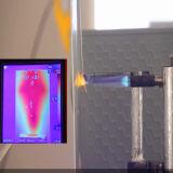 Vivienda de luz de jardín de 80W con tecnología de inhibición de cambio de fase