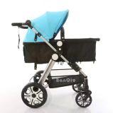 Carrinho de criança de bebê europeu de dobramento com assento de carro