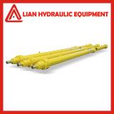 Cilindro hidráulico do atuador da pressão média para a indústria de processamento