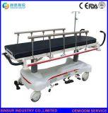 De ISO/Ce del hospital de los muebles ensanchador plano del transporte Emergency de la carretilla manualmente
