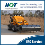 Small Wide Used  Customized Minining Small Wheel  Loader Skid Steer Mini Loader