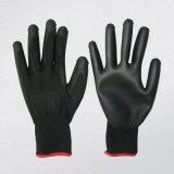 gant enduit d'unité centrale de gant chimique d'unité centrale de polyuréthane de doublure du polyester 13G
